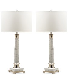 Safavieh Set of 2 Colleen Table Lamps