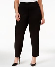 Women's Plus Size Pants - Macy's