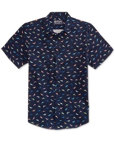 American Rag Men's Mini Dino Shirt, Created for Macy's