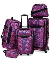 Tag Springfield III Printed 5-Pc. Luggage Set d450e44e2d35d