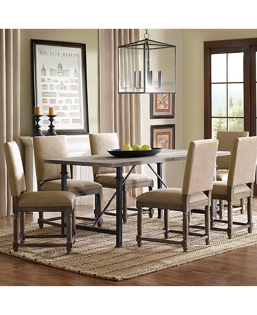 Carriage Co Clayton Dining Table Quick Ship Furniture Macy's Extraordinary How Much To Ship Furniture Plans