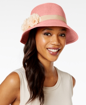 1930s Style Hats – New Vintage Inspired Designs August Hats Fantasy Floral Cloche $19.20 AT vintagedancer.com