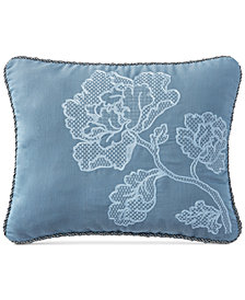 "CLOSEOUT! Waterford Blossom 16"" x 20"" Decorative Pillow"