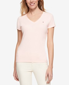 Tommy Hilfiger T-Shirts in Regular and Plus Sizes