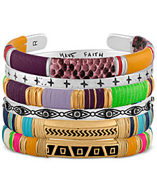 RACHEL Rachel Roy Wrapped Bangle Collection