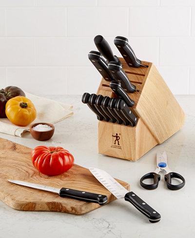 J.A. Henckels International Fine Edge Pro 15 Piece Cutlery Set, Created for Macy's