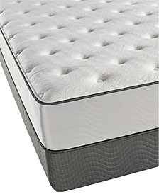 Beautyrest Caribbean Blue 11.5 Plush Mattress Set- Queen Split