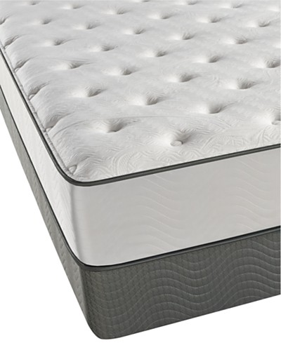 Beautyrest Carribean Blue 11.5 Plush Mattress Set- Queen Split