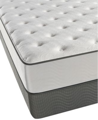 beautyrest cove point 115 plush mattress set queen