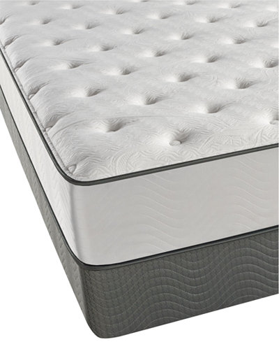 Beautyrest Cove Point 11 5 Plush Mattress Set Queen Split