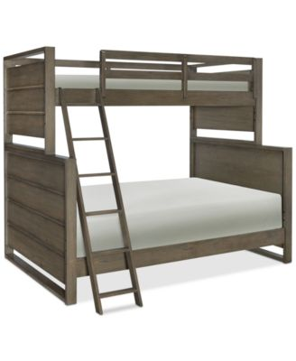 Big Sky Wendy Bellissimo Kids Twin over Full Bunk Bed Furniture
