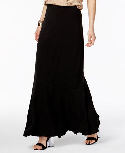 ECI Ruffled Maxi Skirt - Skirts - Women - Macy's