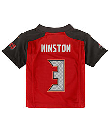 Nike Jameis Winston Tampa Bay Buccaneers Game Jersey, Toddler Boys