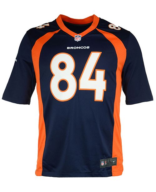 promo code e448d b62e2 Men's Shannon Sharpe Denver Broncos Retired Game Jersey