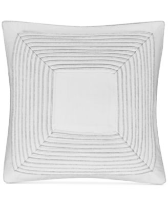 """CLOSEOUT!  Engineered Dots 18"""" Square Decorative Pillow, Created for Macy's"""