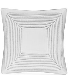 "CLOSEOUT! Hotel Collection  Engineered Dots 18"" Square Decorative Pillow, Created for Macy's"
