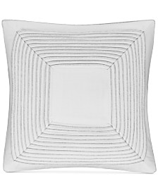 """CLOSEOUT! Hotel Collection  Engineered Dots 18"""" Square Decorative Pillow, Created for Macy's"""