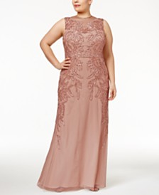 Adrianna Papell Plus Size Dresses: Shop Adrianna Papell Plus Size ...
