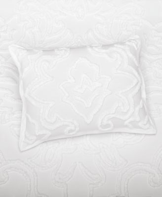 Wooster  100% Cotton Tufted-Chenille Standard Sham, Created for Macy's