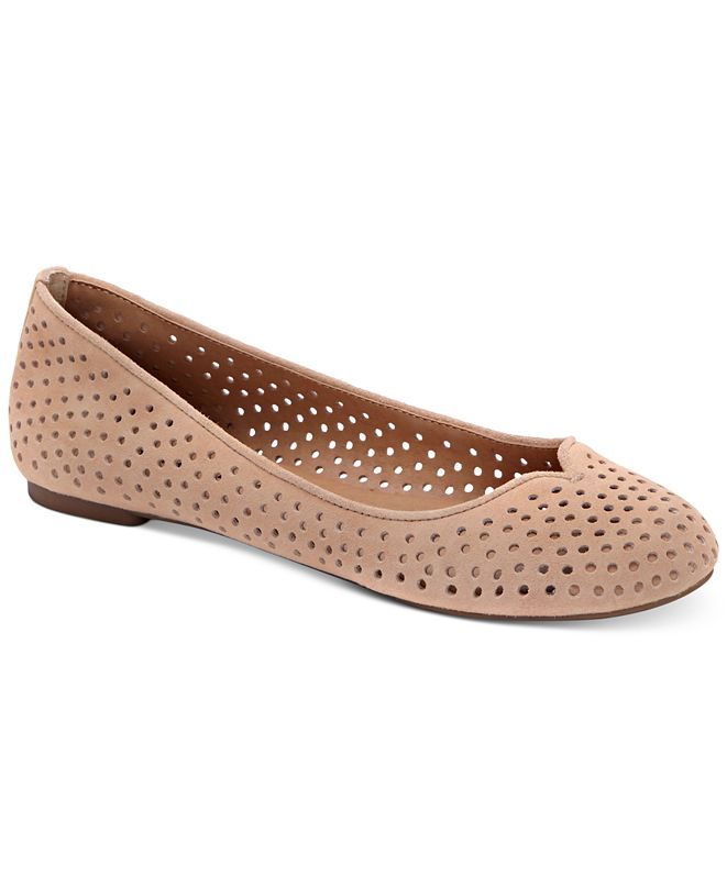 Lucky Brand Women's Enorahh Perforated Flats