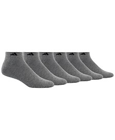 adidas Men's 6 Pack Low-Rise Socks
