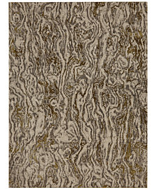 Karastan Enigma Alluvium Brushed Gold Area Rug Collection