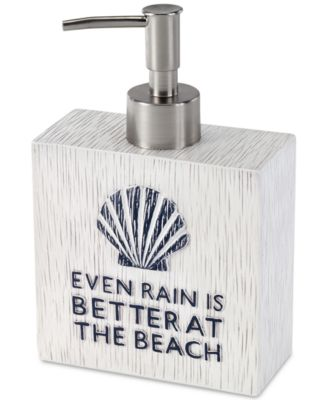 Beach Words Lotion Pump