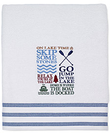 "Avanti Lake Words 27"" x 52"" Bath Towel"