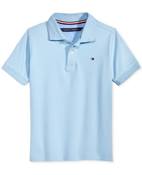 7827d778302c44 Tommy Hilfiger Little Boys Ivy Stretch Polo Shirt   Reviews - Shirts ...