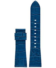 Michael Kors Access Women's Bradshaw Navy Leather Smart Watch Strap MKT9017