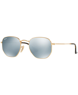 Hexagonal Flat Lens Sunglasses, Rb3548 N 54 by Ray Ban