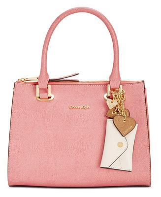 Calvin Klein Mercury Medium Satchel Handbags
