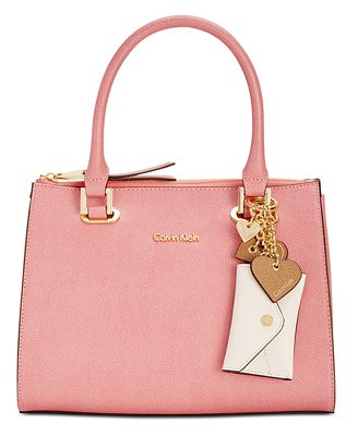 calvin klein mercury medium satchel handbags accessories macy 39 s. Black Bedroom Furniture Sets. Home Design Ideas