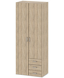 Henman 2 Door Wardrobe, Quick Ship