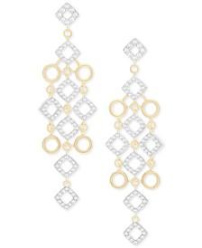 Wrapped in Love Diamond Chandelier Earrings (1 ct. t.w.) in 14k Gold, Created for Macy's