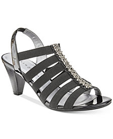 Karen Scott Neema Strappy Sandals, Created for Macy's