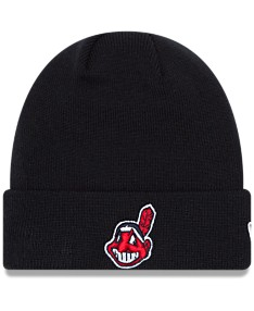 9904ea00 New Era Cleveland Indians Basic Cuffed Knit Hat