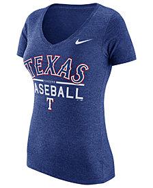 Nike Women's Texas Rangers Practice T-Shirt