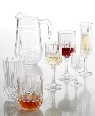 Cristal D'Arques Set of 4 Double Old Fashioned Glasses