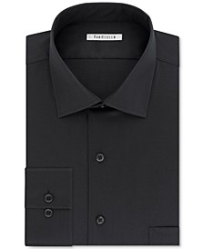 Men's Classic-Fit Wrinkle Free Flex Collar Stretch Solid Dress Shirt
