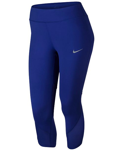 eee2f3e135c0a3 Nike Power Plus Size Epic Lux Cropped Leggings & Reviews - Pants ...