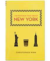 I Never Knew That About New York Book