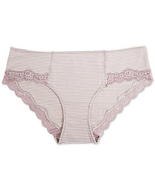8960568fabead A Pea In The Pod Maternity Lace-Trim Hipster Briefs