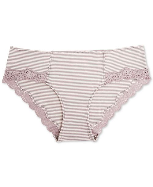 A Pea in the Pod Maternity Lace-Trim Hipster Briefs