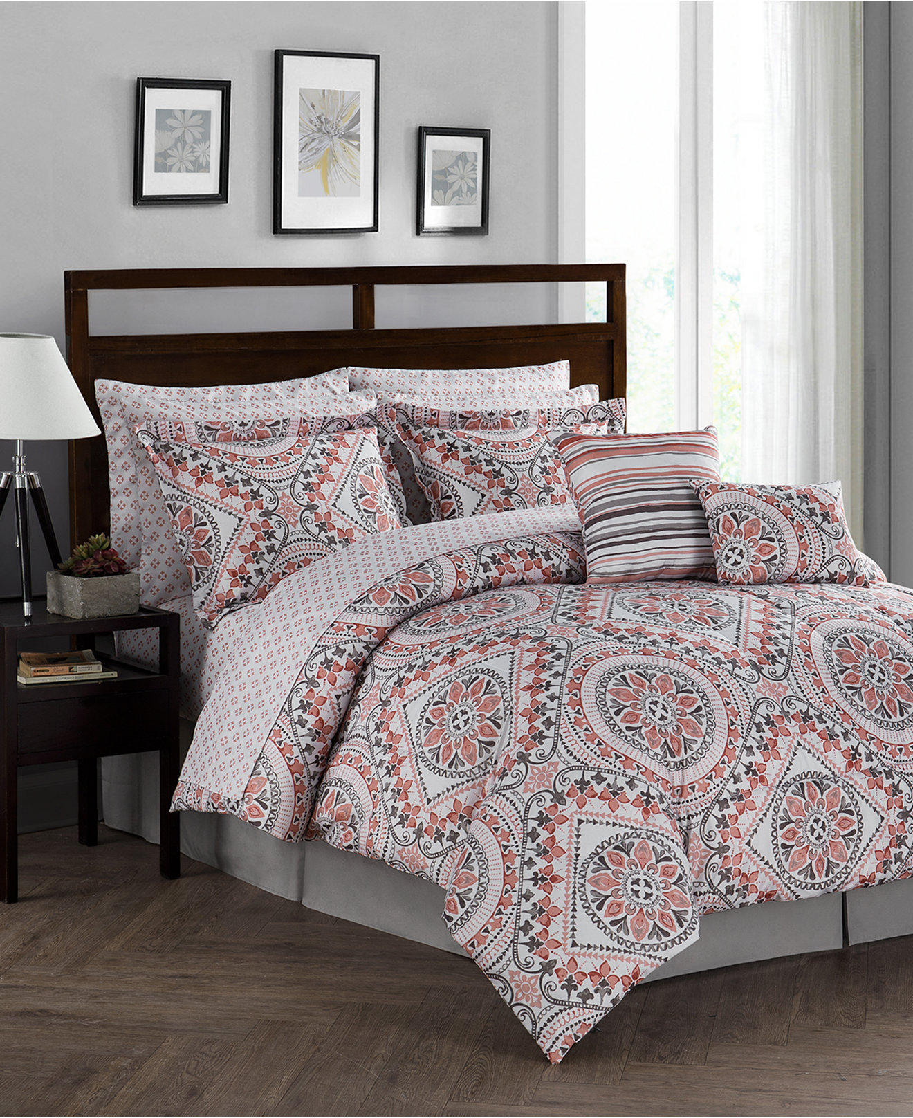 Bedding sets for women - Seville Reversible 12 Pc Comforter Sets