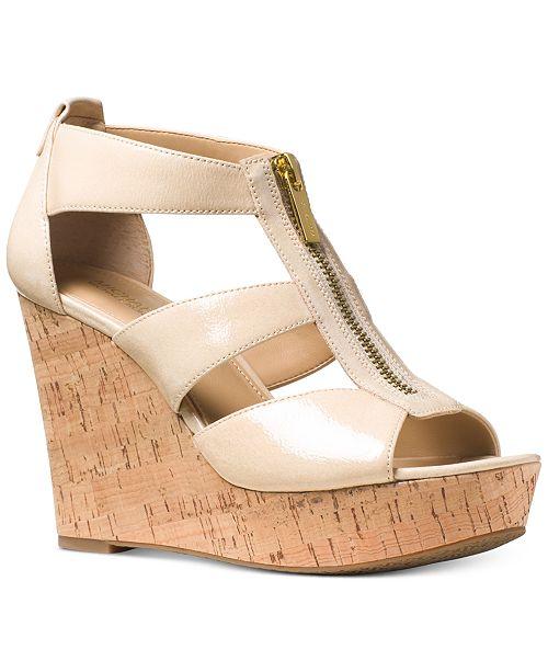 47129cd4cf Michael Kors Damita Platform Wedge Sandals & Reviews - Sandals ...