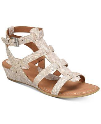 b.o.c. Heidi Snake-Embossed Sandals