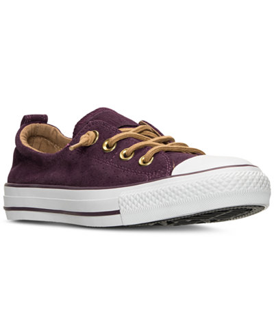 Converse Women's Chuck Taylor Shoreline Peached Canvas Casual Sneakers from Finish Line
