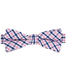 Tommy Hilfiger Boys' Pink & Navy Grid Bowtie
