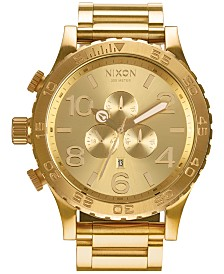 Nixon Men's 51-30 Chronograph Stainless Steel Bracelet Watch 51mm A083